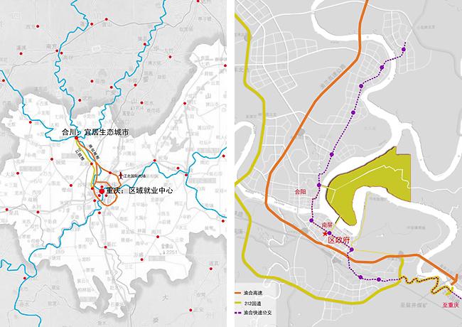 绵阳三江半岛地图