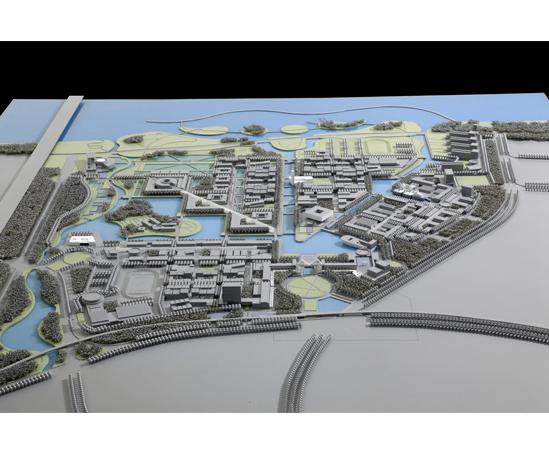 大连海洋大学新校园方案设计